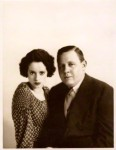 NPG x11868; Elsa Lanchester; Charles Laughton by Yvonne Gregory